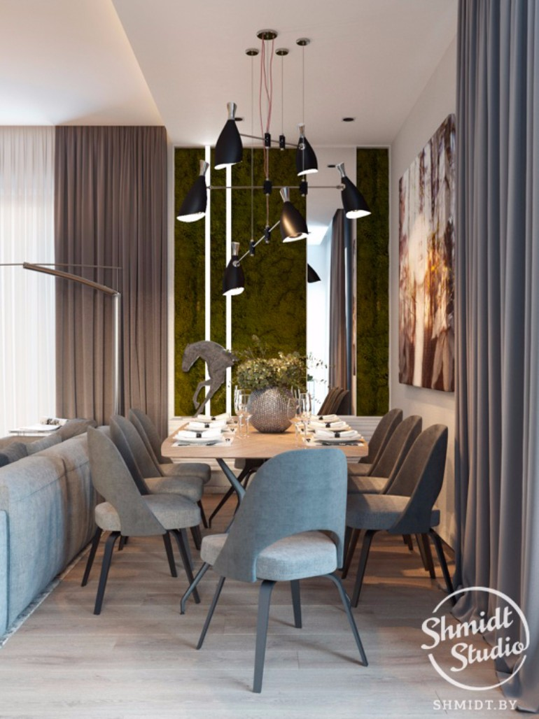 What's Hot On Pinterest Blue Ideas For Your Dining Room 2