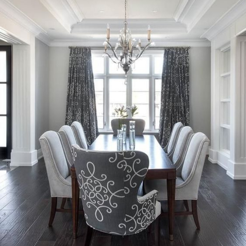 What S Hot On Pinterest You Need For A Grey Dining