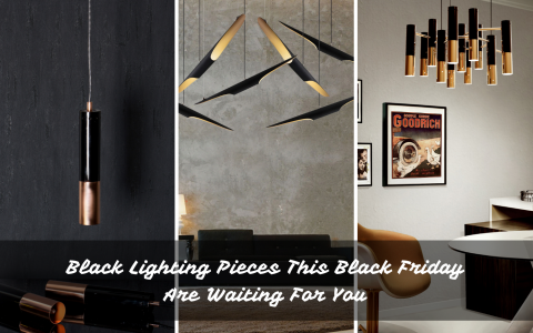 Black Lighting Pieces This Black Friday Are Waiting For You