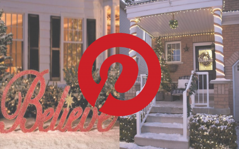 What's Hot On Pinterest Christmas Best Exterior Lighting This Year!