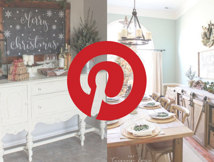 What's Hot On Pinterest Winter Season Decoration For Your Dining Room