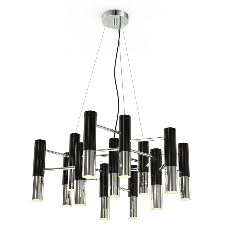 Black Fixtures Who Will Complete Your Dining Room Design (5)