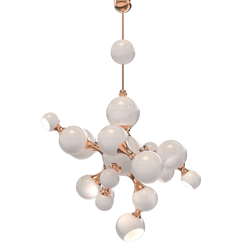 Christmas Dining Room Lighting For A Modern Place (3)