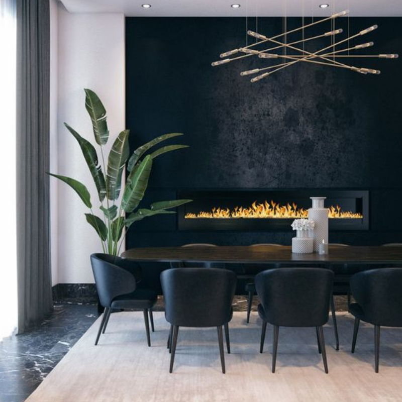Christmas Dining Room Lighting For A Modern Place (8)