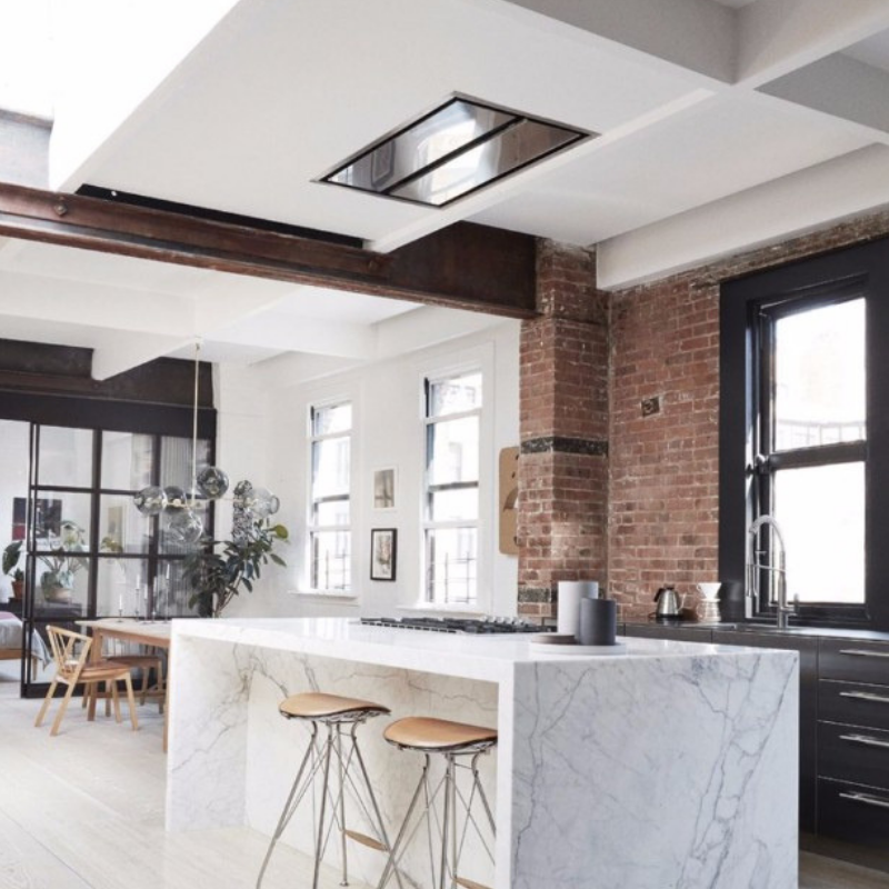Feel Inspired With These New York Industrial Dining Rooms (2)