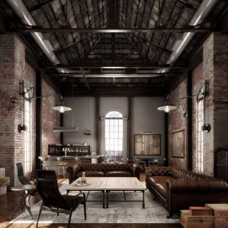 Feel Inspired With These New York Industrial Dining Rooms (3)
