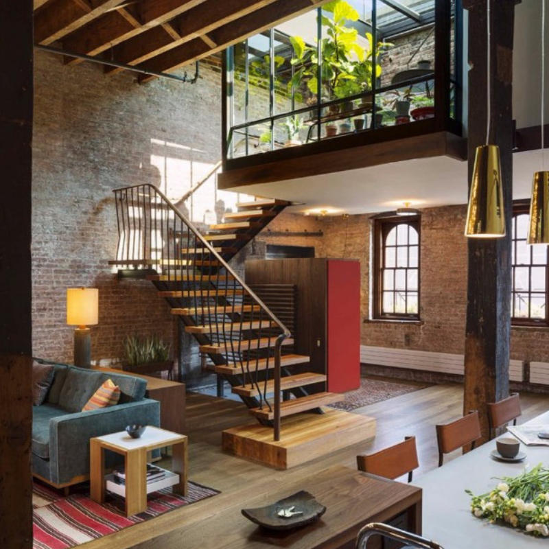 Feel Inspired With These New York Industrial Dining Rooms (5)
