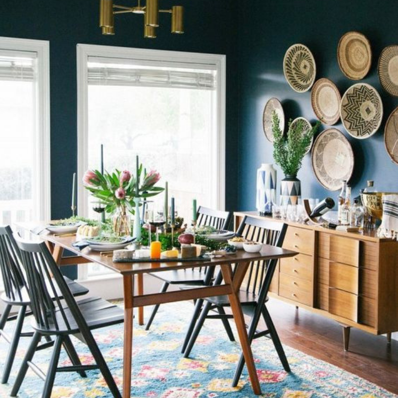 Hot On Pinterest 5 Bohemian Interior Design Ideas For Your Dining Room 2
