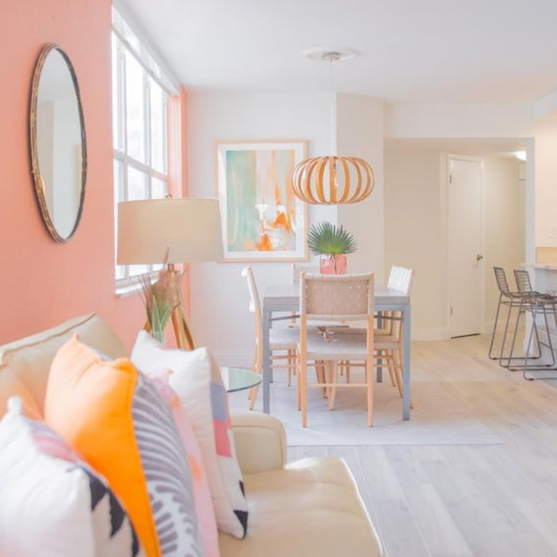 Pantone Colour Of The Year_ Coral Will Warm Your Dining Room Design (7)