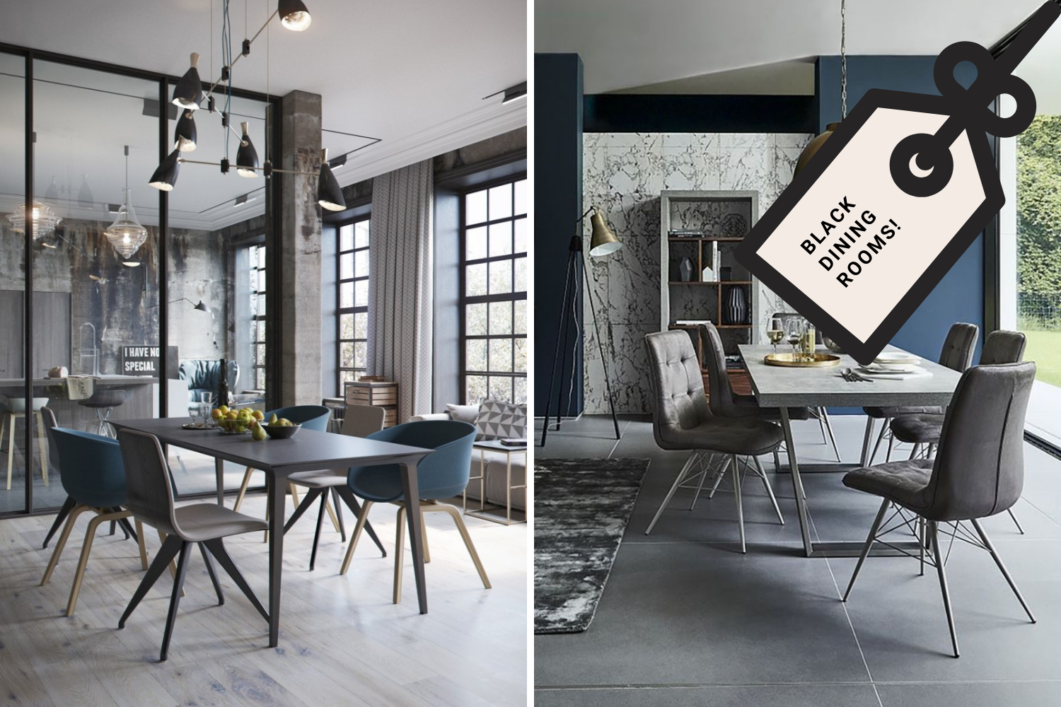 Pull It Off _ How Dark Toned Dining Rooms Are The Hit