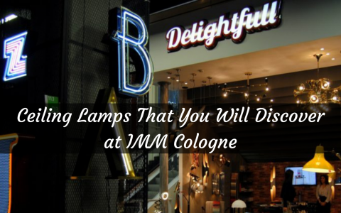 Ceiling Lamps That You Will Discover at IMM Cologne
