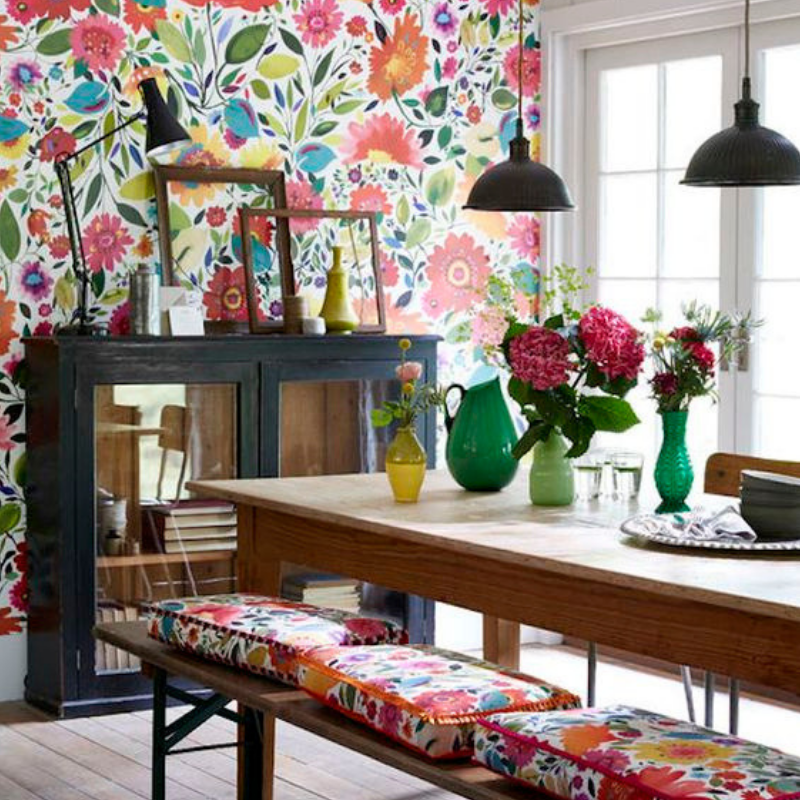 Dining Room Style_ Tips There Are Going To Bring You Colour (3)