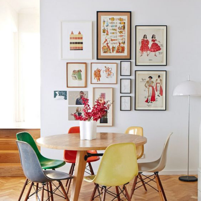 Dining Room Style_ Tips There Are Going To Bring You Colour (4)