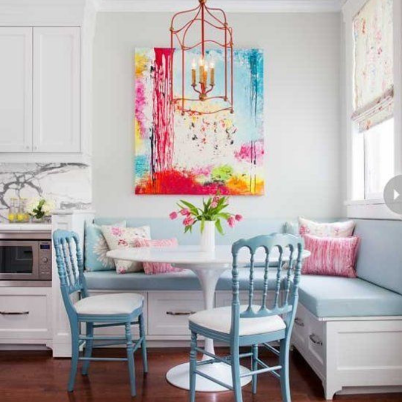 Dining Room Style_ Tips There Are Going To Bring You Colour (5)