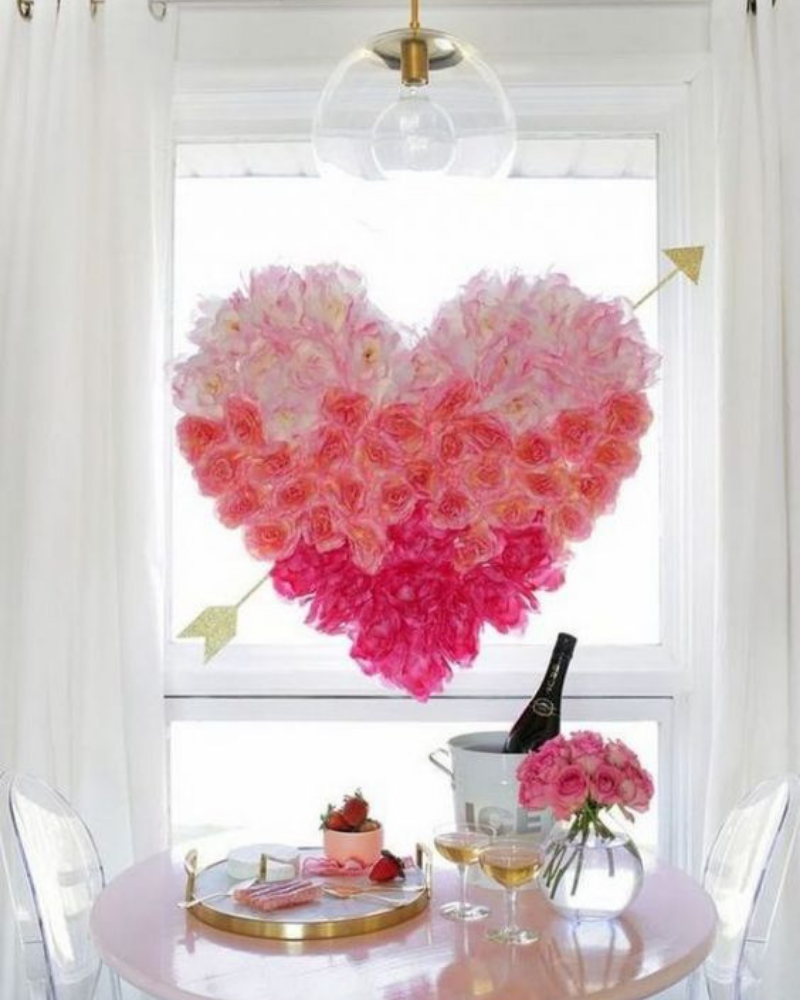 Romantic Dining Room Decoration For Your Valentines Day (3)