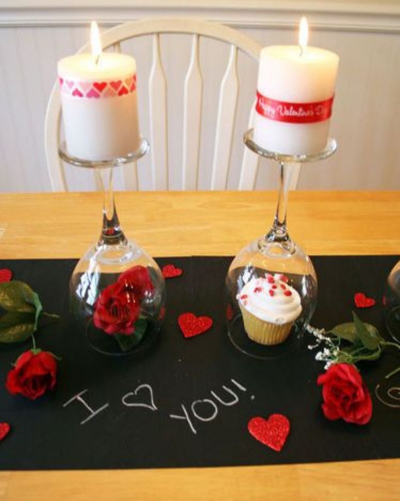 Romantic Dining Room Decoration For Your Valentines Day (5)
