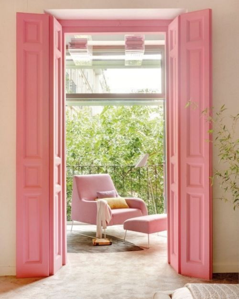 What's Hot On Pinterest Pink Details for Your Dining Decoration (2)