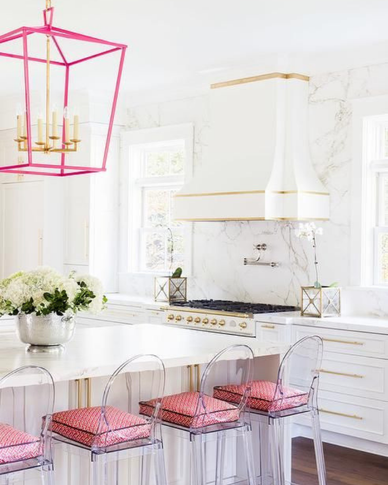 What's Hot On Pinterest Pink Details for Your Dining Decoration (4)