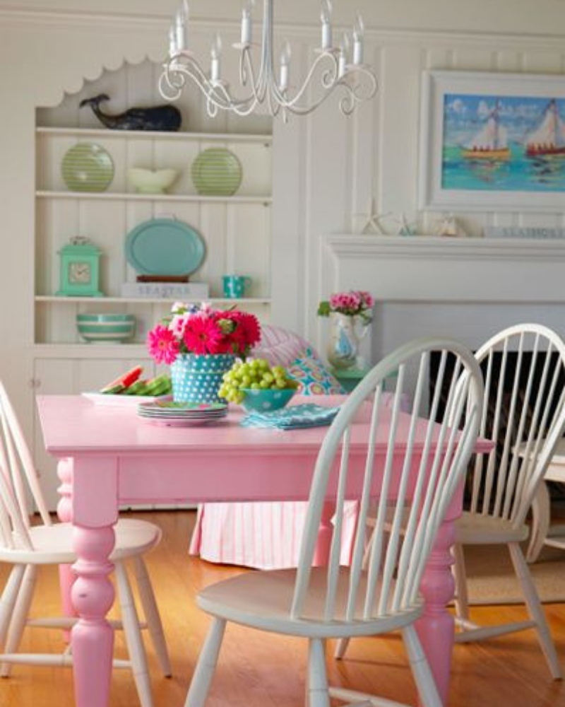 What's Hot On Pinterest Pink Details for Your Dining Decoration (5)