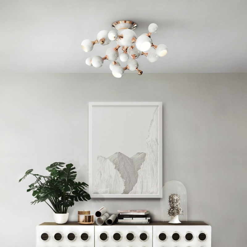 White Lighting Pieces That Will Make a Statement At Your Home (5)