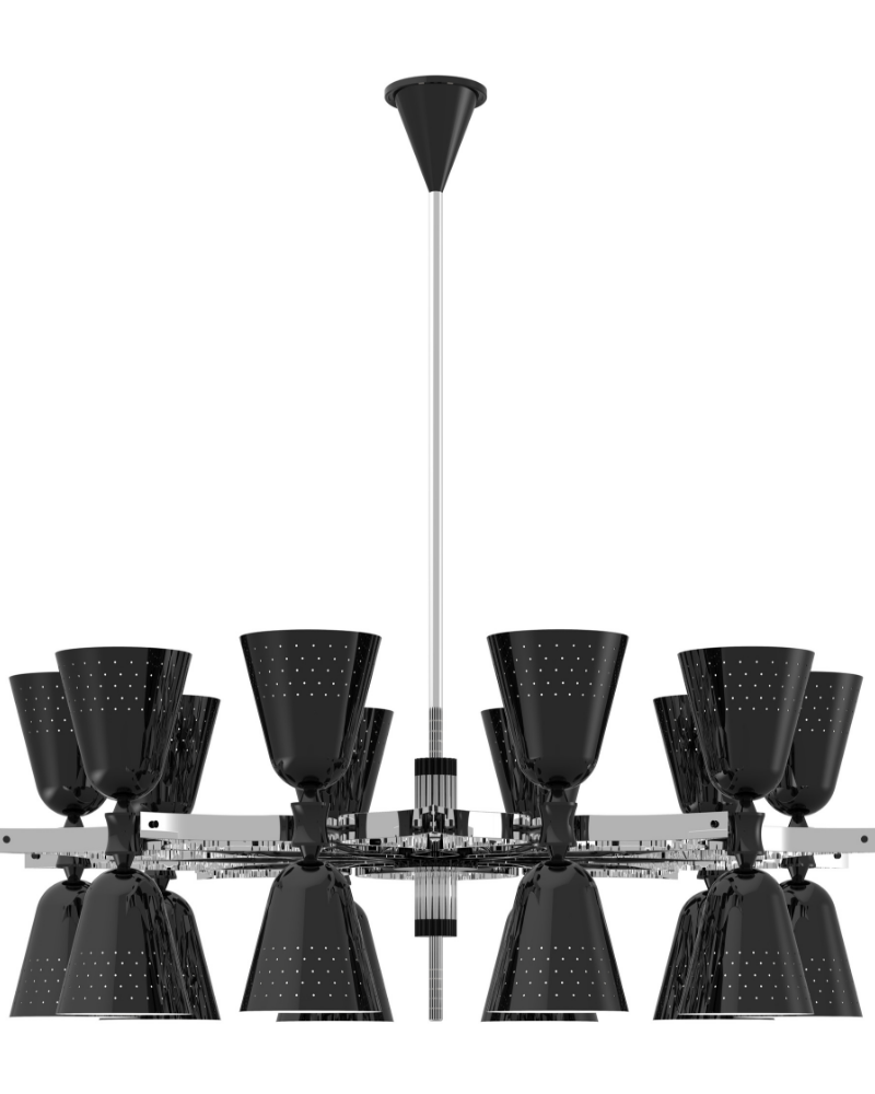 Black And White Lighting Design to Match It Up Your Home! (5)