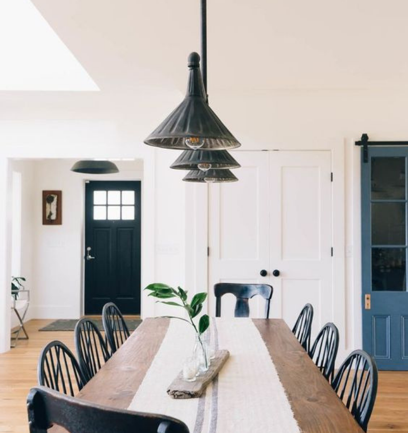 Dining Room Style Needs Some Industrial Decoration (6)