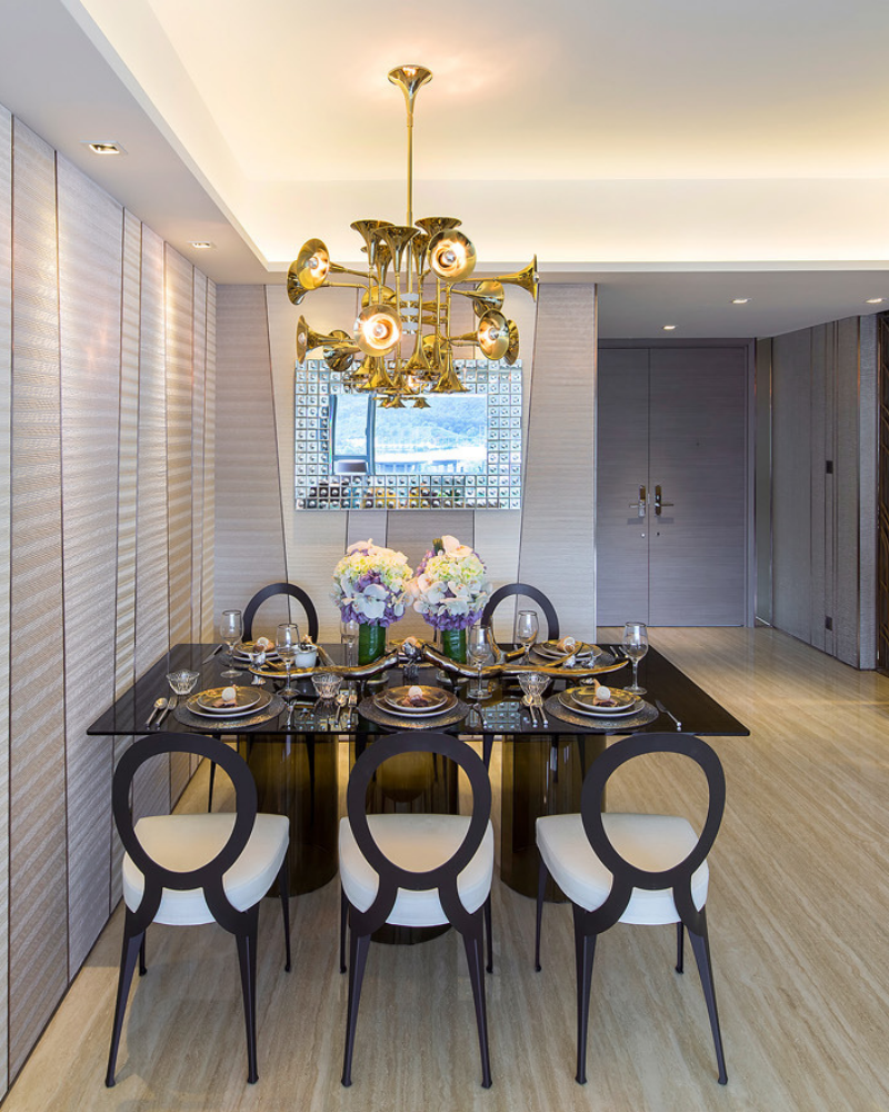 Make Music and Build The Perfect Dining Room Lighting (2)