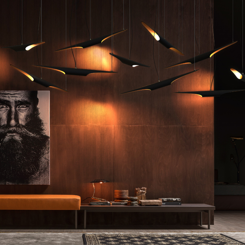 Black Lighting Pieces That Will Be Present At iSaloni 2019 (2)