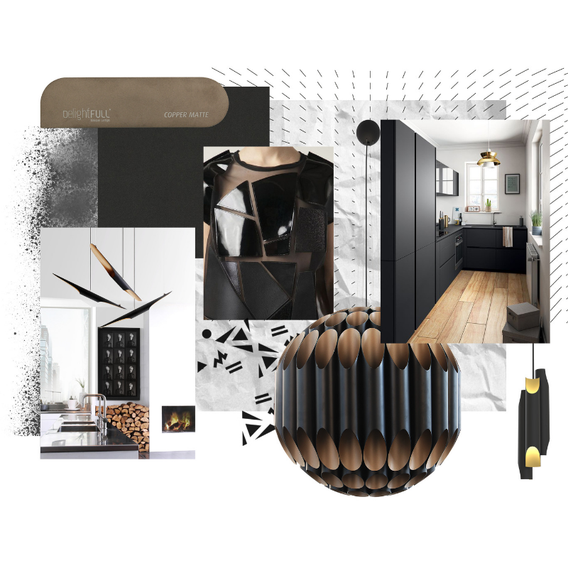 Inspirational Moodboards With Our Luxurious Lighting Pieces! (2)