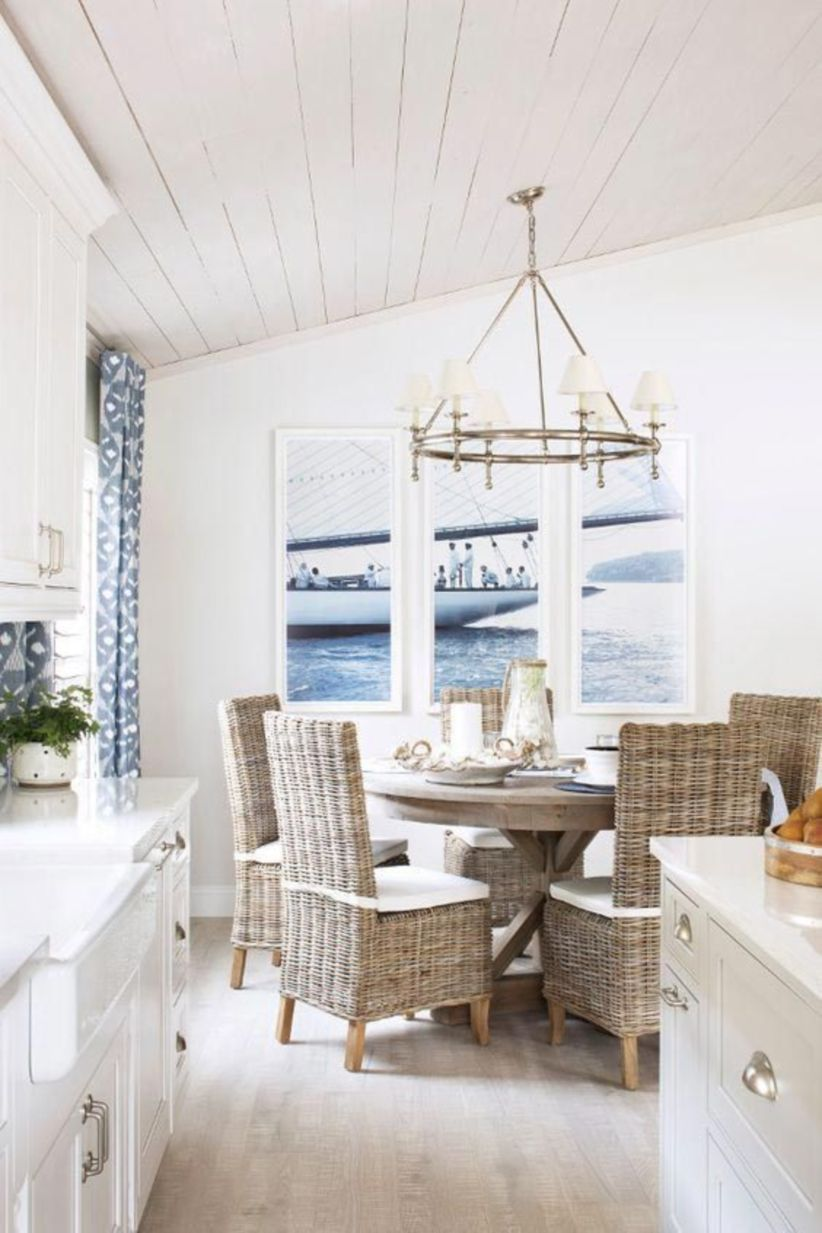 Beach House Dining Rooms You'll Want ASAP