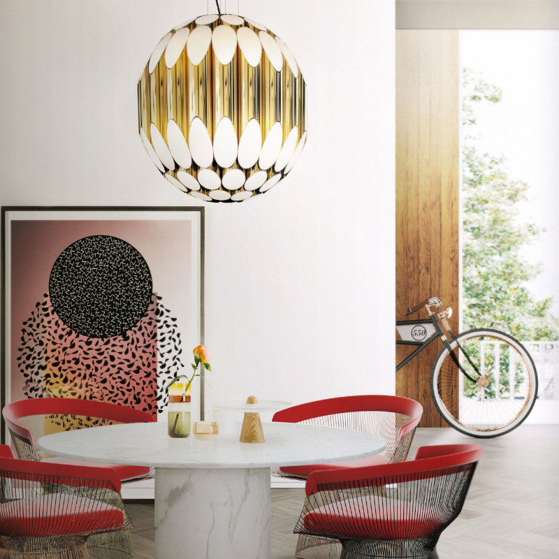 Dream Dining Room With The Best Lighting Pieces (4)