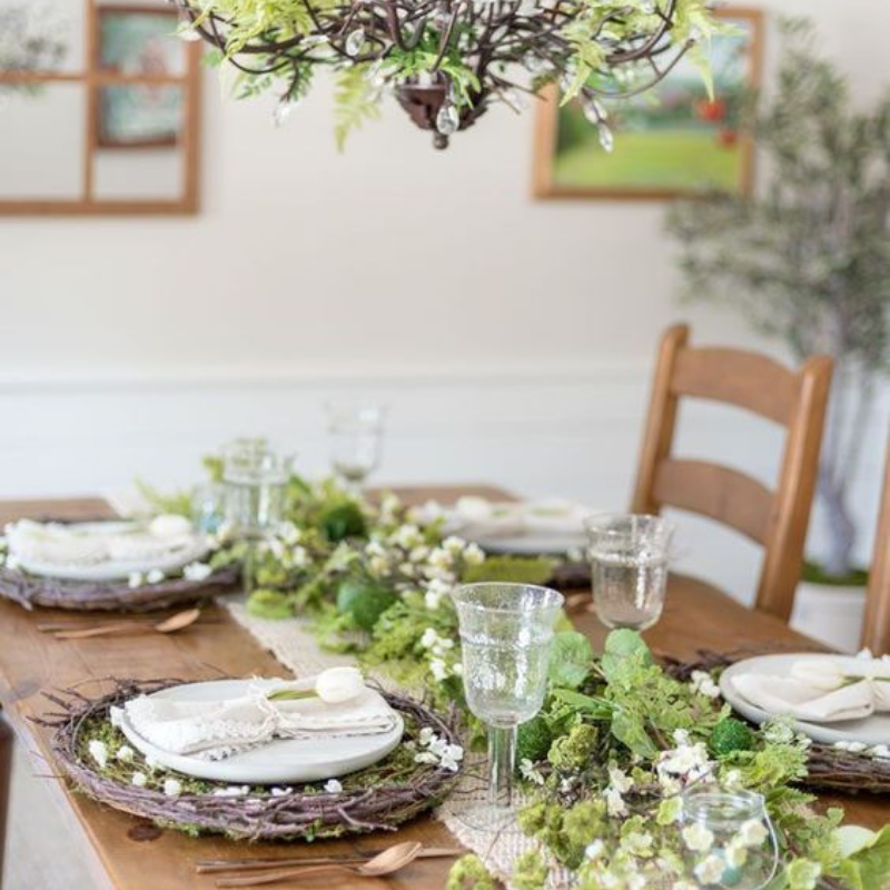 Easter Decoration For Your Dining Room! (4)
