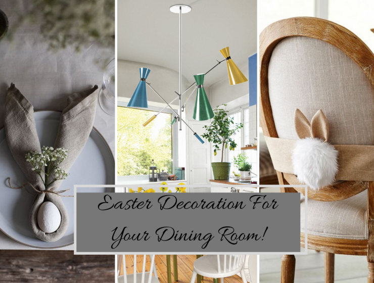 Easter Decoration For Your Dining Room!Easter Decoration For Your Dining Room!