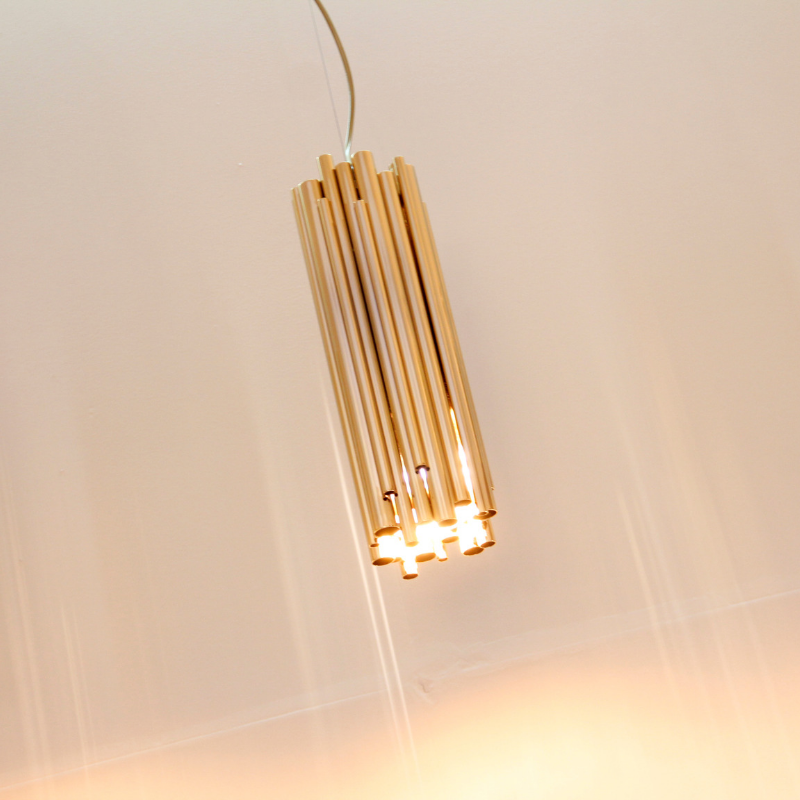 Gold Plated Lighting Pieces At Your Dining Room (4)