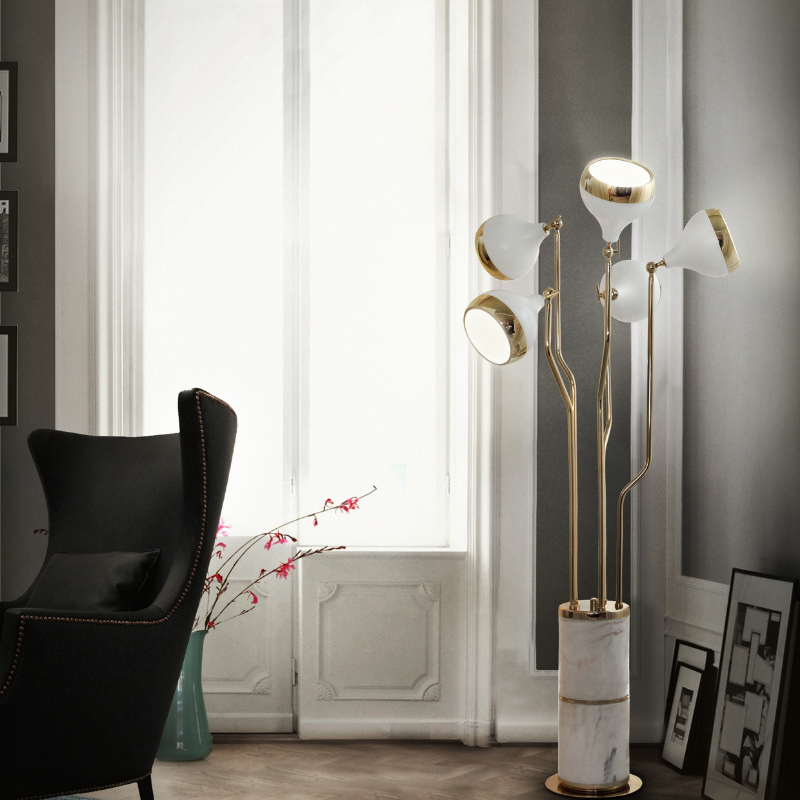Matte White Lighting Pieces At Your Dining Room (8)