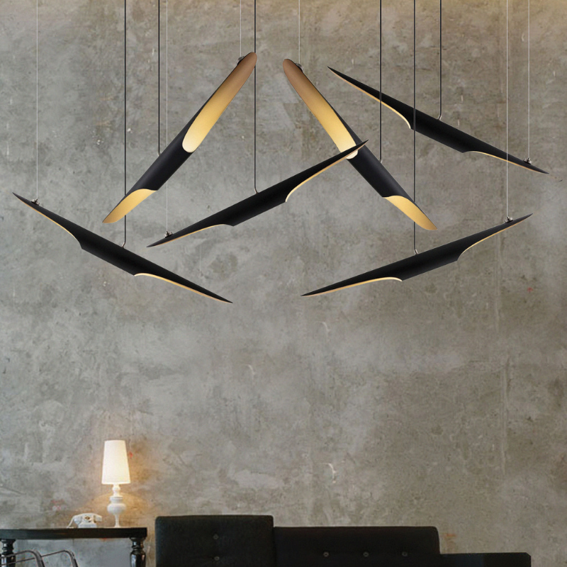 Must Have_ Matte Black Exclusive Lighting Pieces At Your Dining Room (2)
