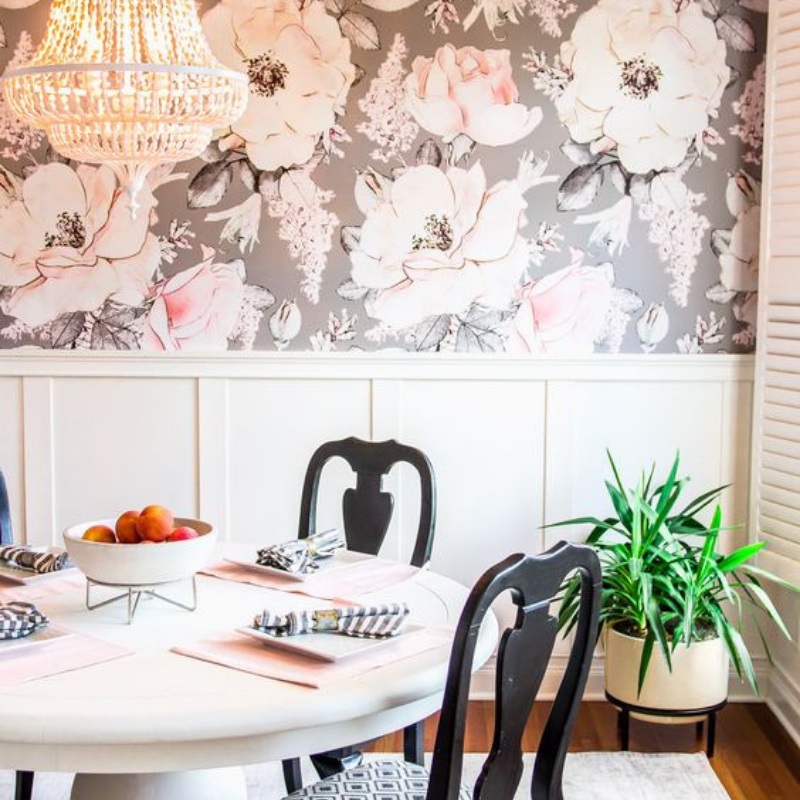 The Most Cool Wallpapers For A Dining Room Décor Change (2)