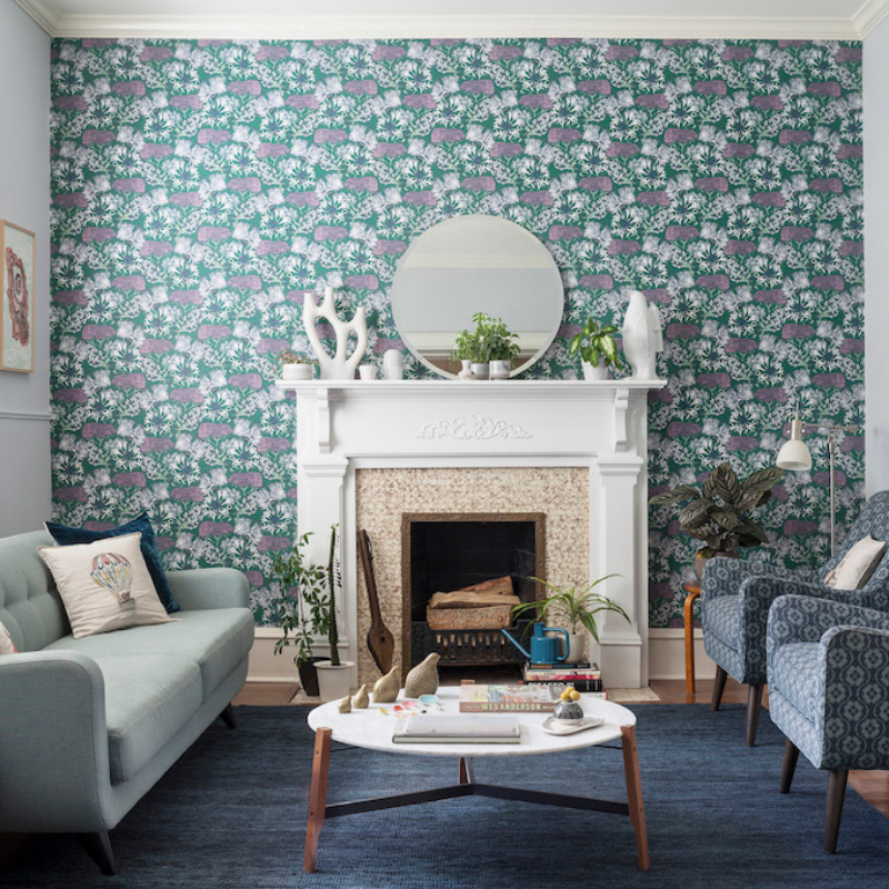 The Most Cool Wallpapers For A Dining Room Décor Change (6)