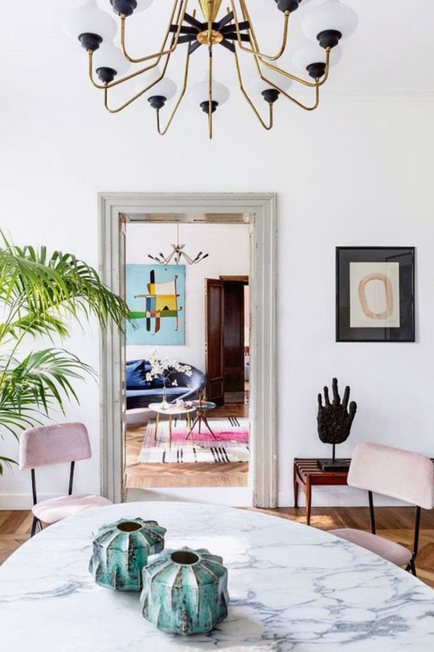Très Chic Dining Rooms To Cause Dinner Guest Envy 1