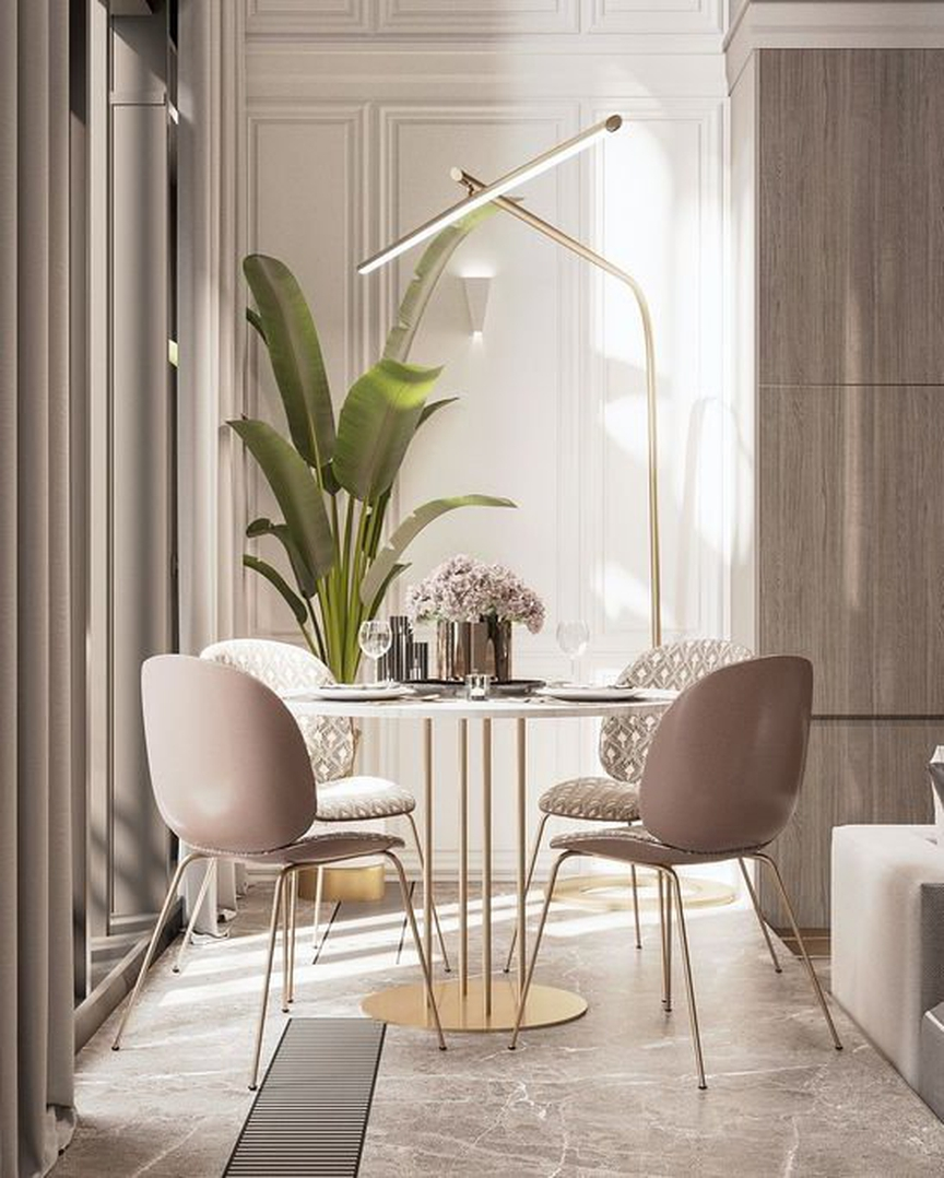 Très Chic Dining Rooms To Cause Dinner Guest Envy 5