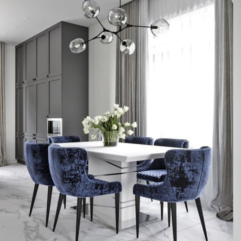 Be Inspired W_ Grey Dining Room Décor (3)