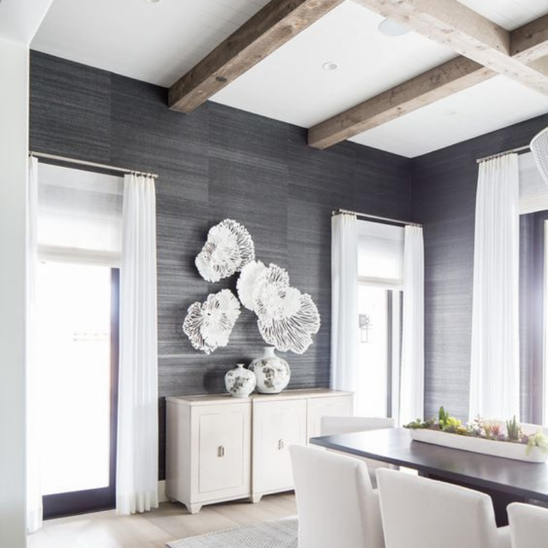 Be Inspired W_ Grey Dining Room Décor (4)