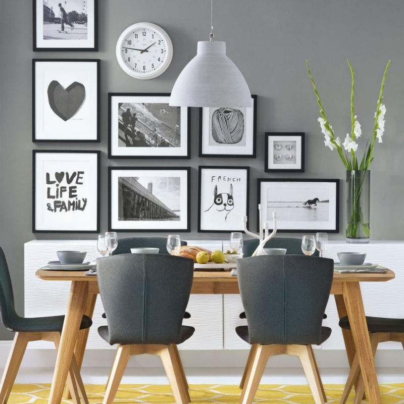 Be Inspired W_ Grey Dining Room Décor (7)