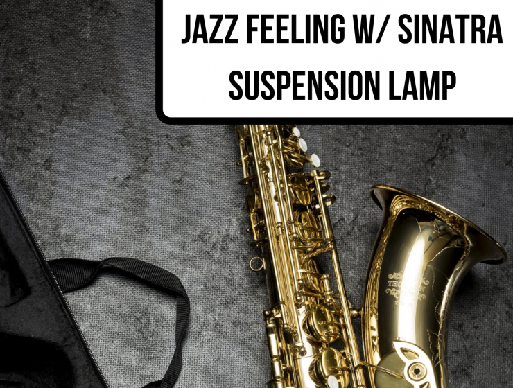 JAZZ FEELING W_ SINATRA SUSPENSION LAMP