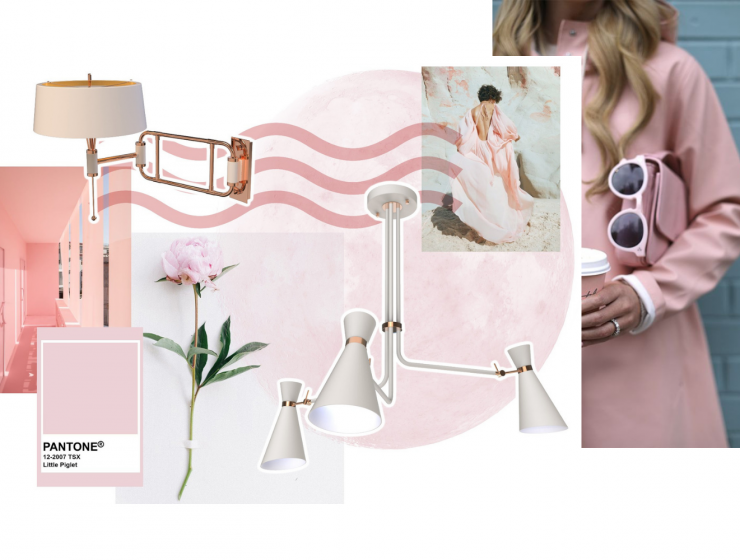 Pink Moodboard Inspirations For Your Dining Room Décor!