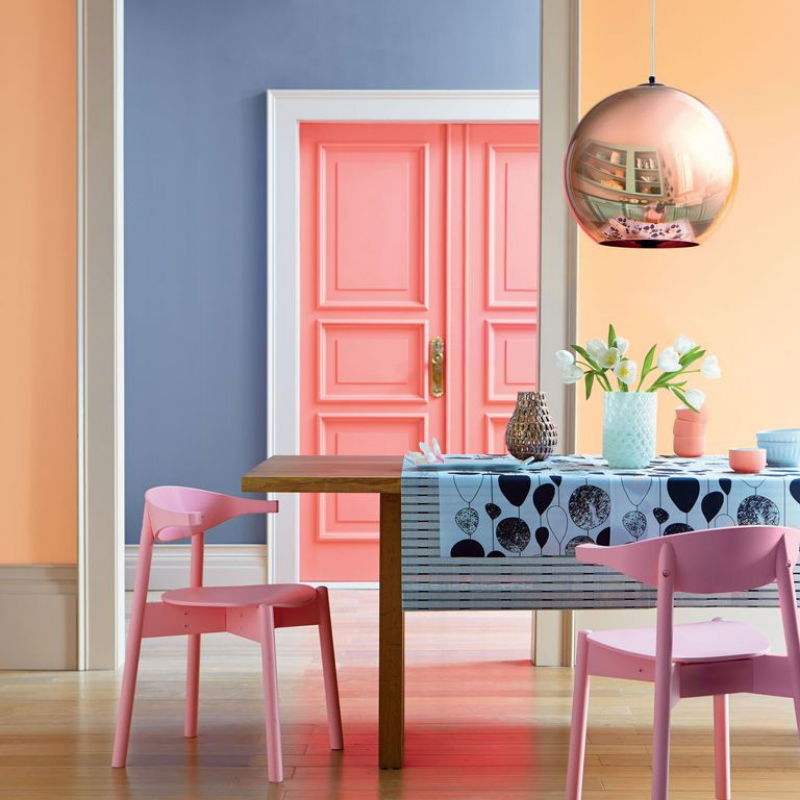 Summer Colour Trends At Your Dining Room Décor (5)