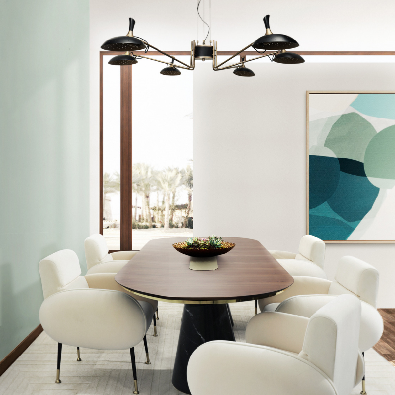 Summer Colour Trends At Your Dining Room Décor (7)