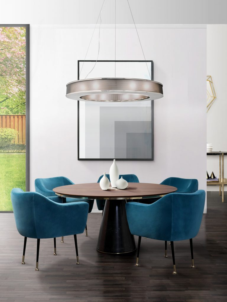 Shop The Look Mid-Century Suspension Lamps Are The Ready F You 1