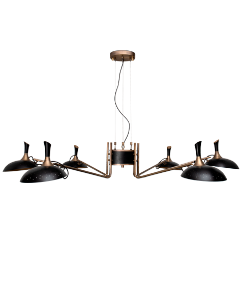 Shop The Look Mid-Century Suspension Lamps Are The Ready F You 3