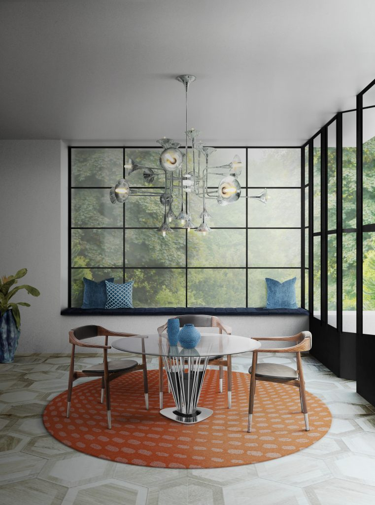 Shop The Look Mid-Century Suspension Lamps Are The Ready F You 5